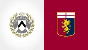 Udinese-Genoa: le formazioni ufficiali. Lasagna in panchina