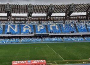 """Stadio Diego Armando Maradona, quasi pronta la scritta """"Napoli"""" nei distinti: lo stato dei lavori"""