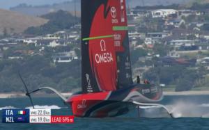 AMERICA'S CUP – Luna Rossa combatte ma il match point è di Team New Zealand