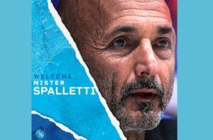 FOTO – Ufficiale Napoli, arriva il tweet di De Laurentiis: è Spalletti il nuovo allenatore!