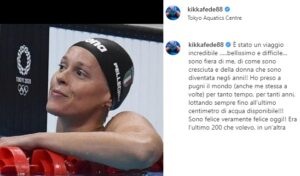 """OLIMPIADI TOKYO – Federica Pellegrini dice addio al nuoto: """"Ho dato tutto e mi ha dato tanto, ora via a nuovi progetti"""""""