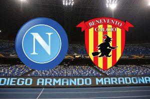 Napoli flop, manita del Benevento nell'amichevole del Maradona